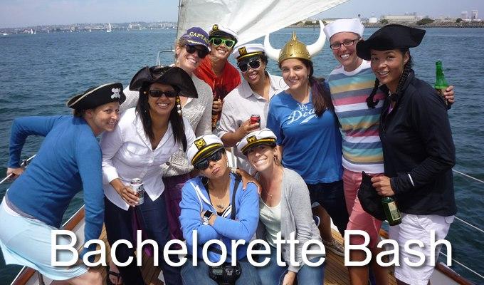Public charter Bachelorette bash