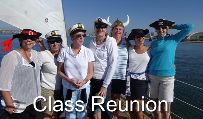 sailing fun class reunion