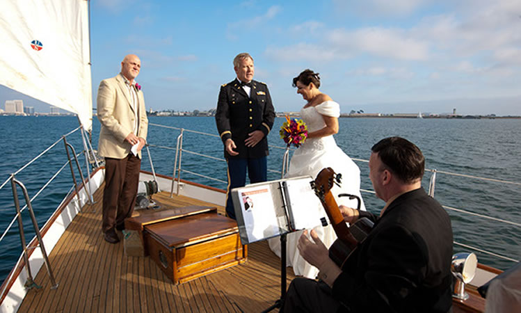 weddings at sea san diego