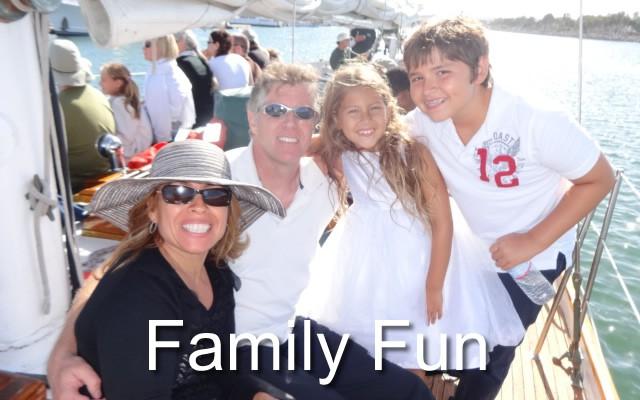 family fun on sail JADA