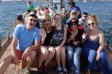 social gatherings aboard jada